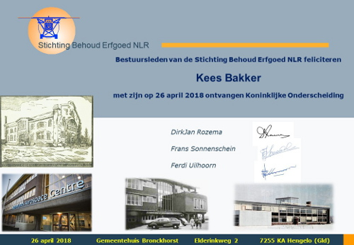 Felicitatiedocument namens SBE